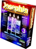 """Създай сам 3 декоративни свещи - Комплект 3 - Творчески комплект от серията """"Candlemaker"""" - творчески комплект"""