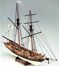 Шхуна - Black Prince - Сглобяем модел от дърво -