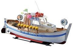 Рибарски кораб - Moby Dick - Сглобяем модел от дърво - макет