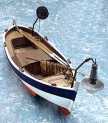 Рибарска лодка - Gozzo da Pesca  - Сглобяем модел от дърво - макет