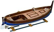 Рибарска лодка - Gozzo Mediterraneo - Сглобяем модел от дърво -