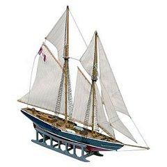 Рибарска шхуна - Bluenose - Сглобяем модел от дърво -