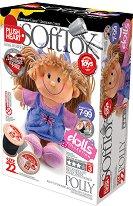 """Направи сама парцалена кукла - Поли - Творчески комплект от серията """"Soft Toy  Dolls"""" - играчка"""