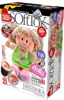 """Направи сама парцалена кукла - Настя - Творчески комплект от серията """"Soft Toy  Dolls"""" - творчески комплект"""