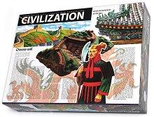 Направи сам макет-моливник - Великата китайска стена - Творчески комплект от серията Цивилизации - играчка