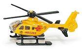 """Медицински хеликоптер - Метална играчка от серията """"Super: Emergency rescue"""" - количка"""