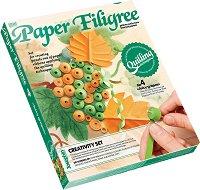 """Създай сам квилинг картина - Грозд - Творчески комплект от серията """"Paper Filigree"""" - играчка"""