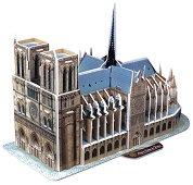 """Катедралата """"Нотр Дам"""" - 3D пъзел -"""