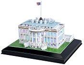 Белият дом - Светещ 3D пъзел - пъзел