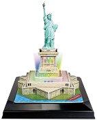 Статуята на свободата - Светещ 3D пъзел - пъзел