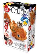 """Направи сам плюшена играчка - Златна рибка - Творчески комплект за шиене от серия """"Мини"""" -"""