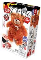 """Направи сам плюшена играчка - Мече Бруин - Творчески комплект за шиене от серия """"Класик"""" -"""