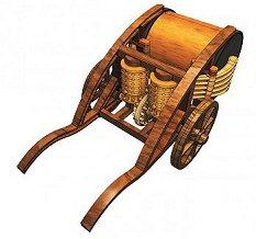 Da Vinci - Механичен барабан - Сглобяем модел - продукт