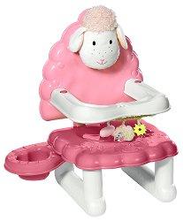 """Столче за хранене на кукли - Аксесоар за кукли от серия """"Baby Annabell"""" -"""