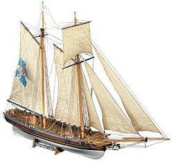 Шхуна - Marseille - Сглобяем модел от дърво - макет