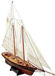 Шхуна - America - Сглобяем модел от дърво - макет