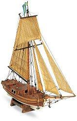 Ветроходна яхта - Gretel - Сглобяем модел от дърво -