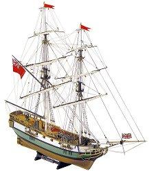 Бриг - Portsmouth - Сглобяем модел от дърво -