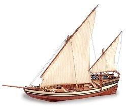 Доу - Sultan - Сглобяем модел на кораб от дърво -