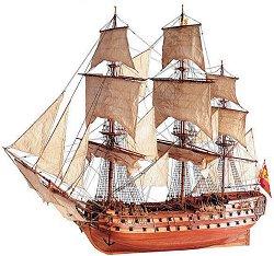 San Juan Nepomuceno - Сглобяем модел на кораб от дърво -