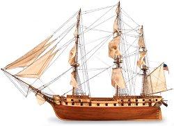 Фрегата - Constellation - Сглобяем модел на кораб от дърво -