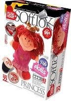 """Направи сама парцалена кукла - Принцеса - Творчески комплект от серията """"Soft Toy  Dolls"""" -"""