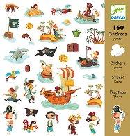 Комплект стикери за декорация - Пирати