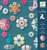Киригами - Гирлянди - Творчески комплект - играчка