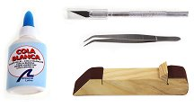 Стартов комплект инструменти за сглобяване на модели и макети - макет