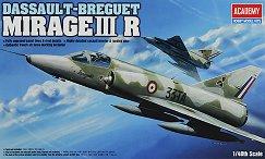 Изтребител - Mirage III R - Сглобяем авиомодел -