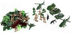 Храбрите войници - Комплект фигури в раница - творчески комплект