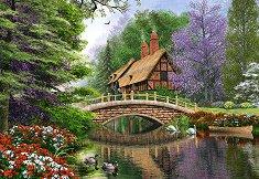 Къща на реката - пъзел