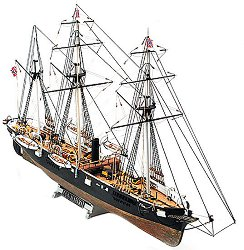 Тримачтов платноход - C.S.S. Alabama - Сглобяем модел от дърво -