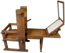 Печатарската преса на Гутенберг - Сглобяем модел от дърво -