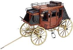 "Дилижанс - ""Stagecoach"" 1848 - Сглобяем модел от дърво - продукт"