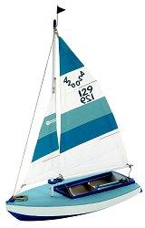 Лодка - Olympic 420 - Сглобяем модел от дърво за деца -