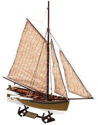 """Лодка от H.M.S. """"Bounty"""" - Сглобяем модел от дърво - макет"""