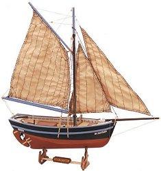 Bon Retour - Сглобяем модел на ветроходна лодка от дърво -
