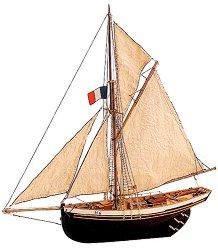 Катер - Jolie Brise - Сглобяем модел на кораб от дърво - макет