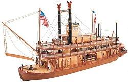 Речен параход - King of the Mississippi - Сглобяем модел на кораб от дърво -