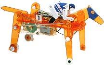 Механичен съзтезателен кон с ездач - Сглобяем модел с мотор - макет