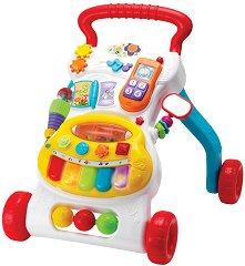 Бебешка музикална количка - проходилка -