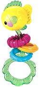 Рибка - Дрънкалка от серията Чудесата на океана - играчка