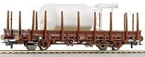 Товарен вагон със силоз -