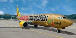 Пътнически самолет - Боинг 737-800 TUIfly HaribAIR - Сглобяем авиомодел -