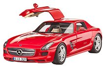 Автомобил - Mercedes-Benz SLS AMG - Сглобяем модел - макет