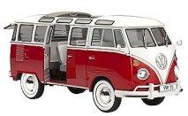 Бус - Фолксваген T1 Samba - Сглобяем модел -