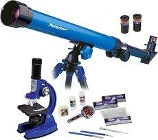 Детски микроскоп и телескоп -