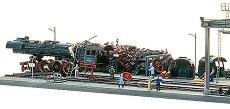 Депо за локомотивен скрап - Сглобяем модел - макет