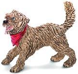 Играещо куче - смесена порода - Фигура от серията - Животните от фермата - фигура